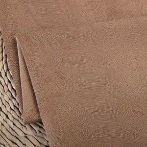 SQINAA Canapé Épaissi Flanelle Simple Et Élégant Couvercle Sofa Tissu Imprimé Floral Extérieur Convient Au Coussin Oreiller 145X100cm,B
