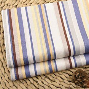 SQINAA Canapé Tissu Flanelle Exquisite Modèles Effacer Les Couleurs Confortables Canapé Tissu Imprimé Floral Extérieur Convient pour Coussin Oreiller 145X100cm,B3
