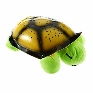 AstriuK Tortue en Peluche Constellation Turtle Musical Night Sky Light pour Enfants
