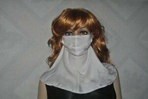 JKLAQ Crème solaire respirante Sable Anti-poussière Froid Visage Soie Grand masque de cou