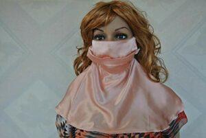 Masque de visage JKLAQ – Respirant – Résistant au sable – Résistant à la poussière et au froid – 100 % soie