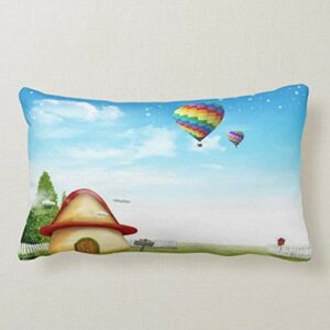 Perfecone – Taie d'oreiller pour décoration de maison – Motif dessin animé – 50 x 75 cm