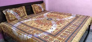 24×7 Drap de lit en tissu pour lit king size.