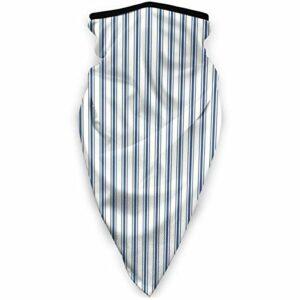Magic Headwear Matelas à rayures étroites Bleu foncé et blanc Unisexe