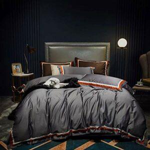 WLT Drap de lit de Luxe Simple et léger en Coton et Coton Bed Cinq étoiles literie d'hôtel santé Universelle sans Saisons de formaldéhyde (Size : S)