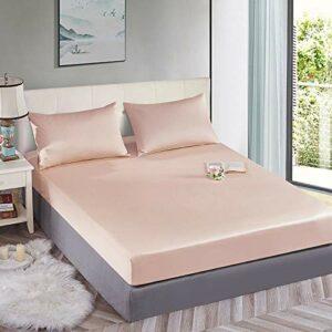 Xiaomizi Parure de lit 3 pièces avec longues fibres de coton.