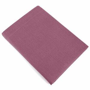 Linnea Drap Plat uni 270×310 cm 100% Coton Alto Raisin
