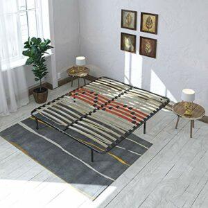 Maison Aubertin Kit Cadre à Lattes Morphologique 3 Zones de Confort – 160 x 200 cm