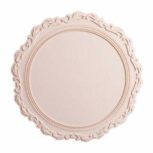 Weisin Tapis de Tasse de Boisson en Silicone Facile à Nettoyer décoration de Table à la Maison,Brouillard Rose