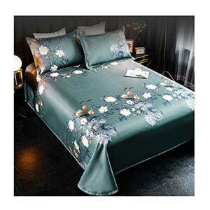 230 * 250cm Dream Floral Confortable Tapis De Rotin, Tapis D'été En Treillis Classique, Tapis D'été D'été En Trois Pièces, Tapis De Couchage Estival Pliable En Rotin Est Cool, (Color:Calme et élégant)