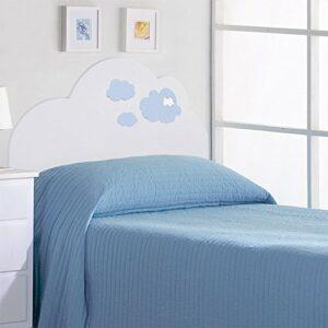 Bainba Tête de lit enfant Nuage Bleu 105