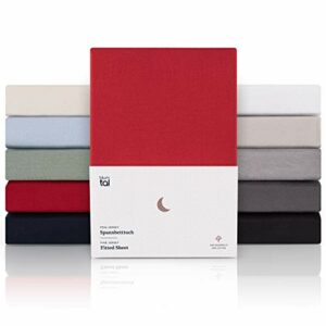 Blumtal – Drap Housse 120 x 200 x 30cm – Red