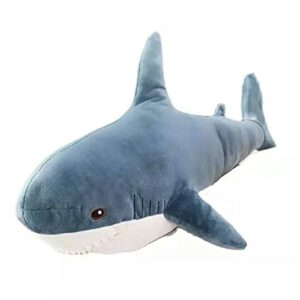 Bonways 15-140 cm Requin Géant en Peluche Doux en Peluche Mignon Animal Lecture Oreiller Coussin Animal Cadeau pour Enfants