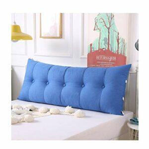 Coussin de nuit Grand lit double dossier Tatami oreiller de lit peut être fixe et lavable for Salon Chambre chevet Canapé (Color : K, Taille : 150cm)