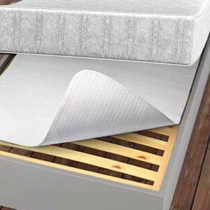 Lilano Home Alèse de matelas 160 x 200 cm – Protection de matelas avec picots – Tapis antidérapant pour matelas et lit à sommier tapissier – Protection de sommier à lattes antidérapante par matelas