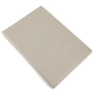 Linnea Drap Plat uni 270×310 cm 100% Coton Alto Chamois