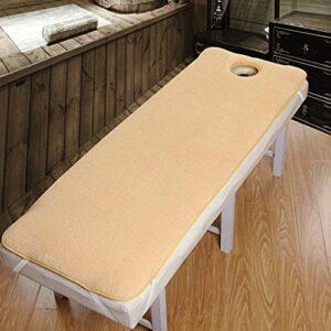 Matelas Matelas canapé Topper épais Chaud, futon tatami matelas pour salon de beauté, matelas de table de massage spa rectangulaire avec trou de visage, utilisé dans toutes les saisons Surmatelas