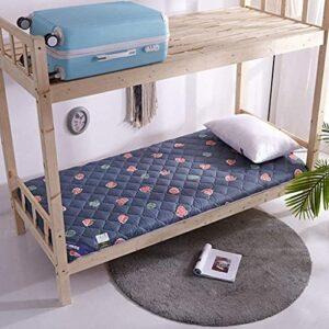 Matelas Matelas tatami pliant, dortoir étudiant rouler matelas futon, portable matelas de camping en mousse de mousse de mousse, tapis de tatami lavable Surmatelas ( Color : A , Size : 180x200cm )