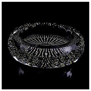 NZKW Moderner Aschenbecher Kristall Aschenbecher Kreative Persönlichkeit Mode Europäischen Stil Extra Großer Aschenbecher Luxus Diamant Aschenbecher für Büro Oder Zuhause Aschenbecher f