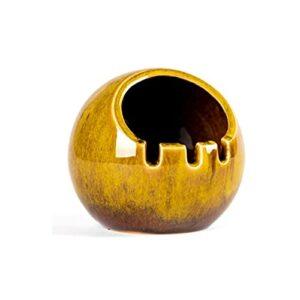 NZKW Moderner Aschenbecher Zigarre Keramik Keramik Aschenbecher für Outdoor Indoor Aschenbecher für Männer Luxus Aschehalter für Raucher für Kreativität Geschenk Aschenbecher für Die Te