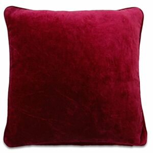Place velours solide Coussin Taie Oreillers Home Decor 15″ x 15″ pouces