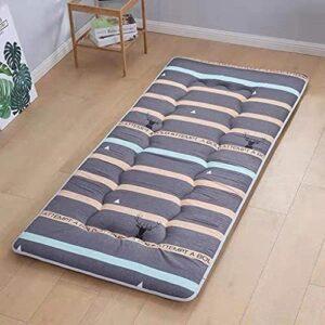 RTSFKFS Matelas Matelas futon pour Enfants,Matelas Futon Japonais Pliable,futon Sol Japonais avec Imprimé Bande Dessinée,Coussin Couchage Pliable, futon Sol Portable Dortoir Étudiant Surmatelas