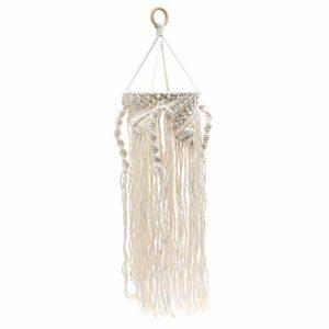 SOLUSTRE Abat- Jour pour Lampe de Table, 1pc Lampe à la Main Tisser Le Tissage de Coton de Coton de Style bohémien