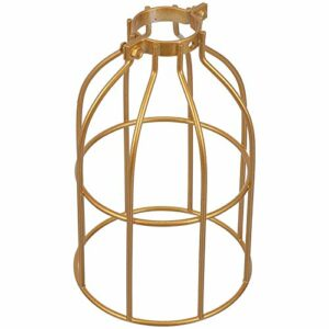 SOLUSTRE Abat- Jour pour Lampe de Table, Cage d' Oiseau en Forme d' Abat- Jour de Fer Art de Fer Abat- Jour Creative Light Shade pour la Maison