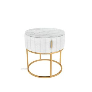 SUNTAOWAN Nordic Bousses Table de Nuit Style Style Lumière Luxe Luxe Salon Moderne Canapé Thé Tableau Tiroir Chambre à Coucher Chambre à Coucher Armoire de Rangement avec tiroir (Color : B1)