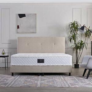 V6 Sommier tapissier 207 – 140 x 200 cm – H4 – Beige