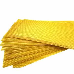 LifBetter Lot de 30 peignes à miel pour fond de teint en cire d'abeille