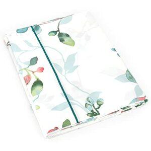Linnea Drap Plat 280×325 cm Percale 100% Coton FLANER Vert Jade