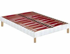 BULTEX – Sommier 140 x 190 Confort extra ferme 140x190cm AD10987