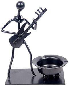 M.XIAO Aschenbecher, E-Gitarren-Aschenbecher, Eisenraucher-Accessoires, kreative Hausgeräte, Zigarettengeschenke, Restaurant-Aschenbecher