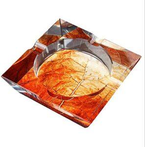 M.XIAO Aschenbecher Europäische Kristallglas Aschenbecher Kreative Persönlichkeit Großes Wohnzimmer Büro Cafe Hotelzimmer Aschenbecher Raucher Aschenbecher