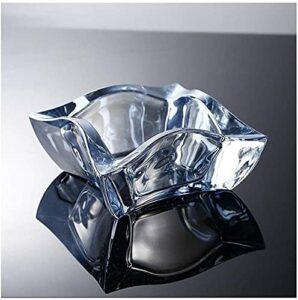 M.XIAO Aschenbecher Kristall Glas Aschenbecher Kreative Persönlichkeit Geschenk Geburtstagsgeschenk Große Wohnzimmer Büro Cafe Aschenbecher Rauchen Aschenbecher