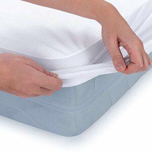 Engalrap Alèse imperméable 180 x 200 cm – Alèse respirante, protège-matelas imperméable, protège matelas sans plis