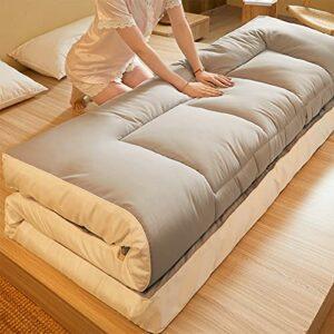 XIAOZHAO Matelas De Sol Reine Pliable,Matelas Tatami Pliant de Style Japonais Matelas en Duvet Matelas Portable Tapis de lit Simple Maison ou dortoir étudiant