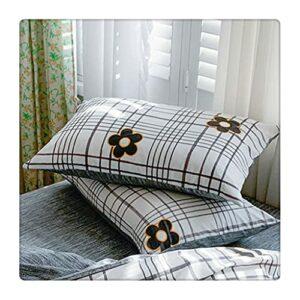 XQWLP Taie d'oreiller rectangulaire simple géométrique pour dossier de canapé, décoration de maison, chambre à coucher, salon (couleur : Style B)