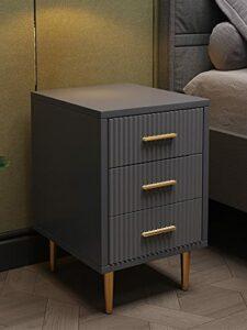 YY Louis Mode Nordic PostModern Lumière Chambre à coucher de Prestige Table de chevet 30 cm de large Lit Ark Ark Célébrité web haut de gamme