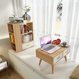 YY Table de table créative Miroir Table de coiffeuse Simple Chambre Moderne Tableau de nuit Tableau de maquillage (Color : Purple Pink)