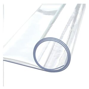 AMDHZ Tapis Protège-Sol 1,5 Mm 2 Mm 3 Mm Tapis De Chaise PVC Mat Imperméable Anti-Rayures Tapis De Protection for Plancher en Bois Tapis De Sol/Protecteur (Color : 2mm, Size : 90X120cm)