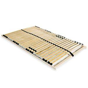 Gawany Sommier à Lattes avec 28 Lattes 7 Zones 140 x 200 cm
