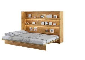 Lit escamotable BED CONCEPT Horizontal 160 x 200 Chêne Clair