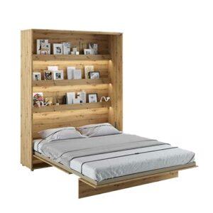 Lit escamotable BED CONCEPT Vertical 160 x 200 Chêne Clair