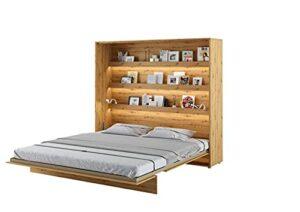 Lit escamotable BED CONCEPT Vertical 180 x 200 Chêne Clair