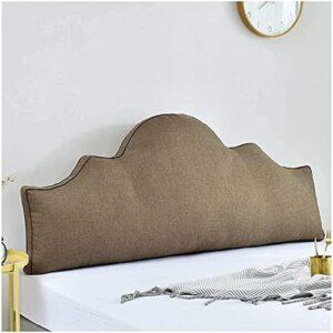 LLLZM Coussin Triangulaire en Forme de Coin, Coussin De Tte De Lit, Oreiller de Taille Coussin de tte de lit, Utilis pour canap lit Tatamis Salon Lavable