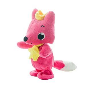 LUOYEPIAO Pinkfong Bumbles Fox, Jouet de poupée de Danse de Musique, poupée en Peluche pour Enfants.