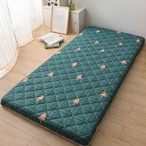 Matelas portable japonais, matelas pliable Tatami pour dormir, matelas de sol à impression simple, lit japonais pour étudiant, dortoir, B, 120 x 200 cm