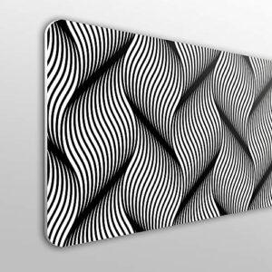 MEGADECOR Tête de lit en PVC 10 mm Décoration économique Modèle Barrie 135 cm x 60 cm